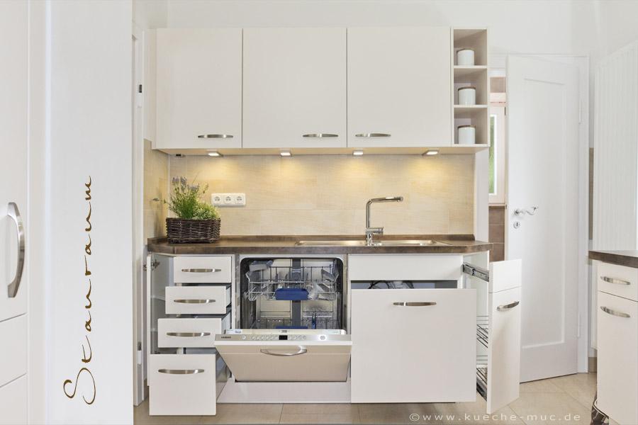 Kleine Küche Gebraucht : kleiner mit viel stauraum interesting wohnideen qm haus ~ Sanjose-hotels-ca.com Haus und Dekorationen